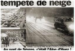 Photo de l'Almanach d'événement météo du 12/1/1999