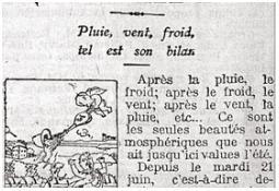 Photo de l'Almanach d'événement météo du 10/7/1910