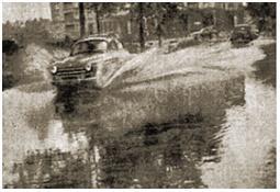 Photo de l'Almanach d'événement météo du 25/8/1954