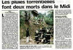 Photo de l'Almanach d'événement météo du 6/11/2000