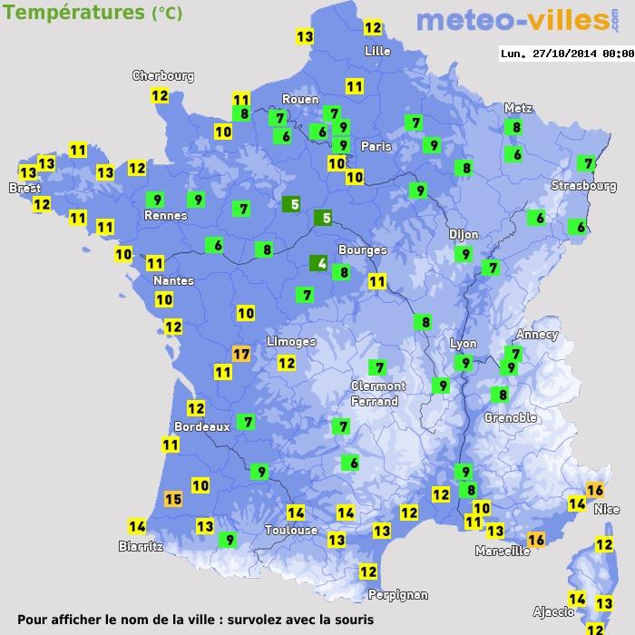 Rouen  Prévisions météo à 15 jours  Le premier site
